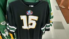 BRAND NWT NFL GREEN BAY PACKERS HALL OF FAME BART STARR #15 JERSEY MEN'S SIZE M