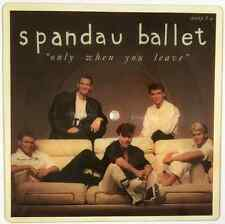 "SPANDAU BALLET ‎- Only When You Leave (7"") (Shaped Picture Disc) (VG-/NM) (2)"