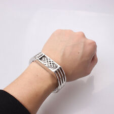 For Fitbit Flex Elegant Silver Color Replacement Metal Band Bracelet Bangle Gift