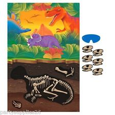 PREHISTORIC DINOSAURS PARTY SUPPLIES PARTY GAME FOR 2 - 12 PLAYERS