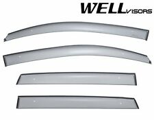 WellVisors Side Window Deflectors Visors Premium Series For 07-12 Dodge Caliber