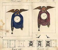 Zauberuhr - Pendule magique - Magical clock  1834