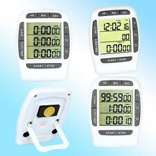 Digital LCD 3-Channel Countdown Up Timer