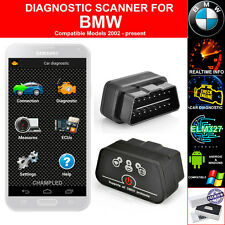 OBD II 2 FOR CAR AUTO DIAGNOSTIC CODE SCANNER SCAN TOOL WITH POWER SWITCH BMW