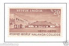 PHILA507 INDIA 1970 SINGLE MINT STAMP OF NALANDA COLLEGE MNH