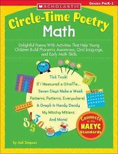 Math : Delightful Poems with Activities That Help Young Children Build...