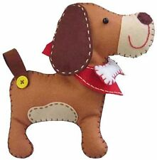 Kleiber Puppy Dog Toy Felt Craft Kit - Make Your Own - Gift Set Children Sew