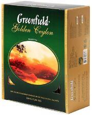 100x2g Beutel Greenfield Tee   Golden Ceylon   Schwarzer