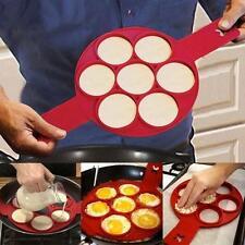 Fantastic Nonstick Pancake Egg Ring Maker Flippin' Kitchen Frying Breakfast New