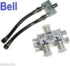 DPP SEPARATOR FOR TWIN BELL EXPRESS + DISH NETWORK PRO DP TWIN PLUS LNB PVR HD