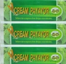 Payayor Cream for Cold sores & Herpes virus 3 x 10g Tubes