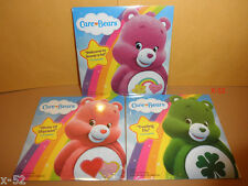 CARE BEARS promo DVD lot of 3 episodes GOOD LUCK love-a-lot BEST-FRIEND bear