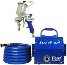 Fuji Mini Mite Turbine #2203G Semi-Pro 2 Stage Turbine System w/ Gravity Gun