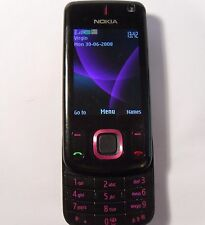 Nokia Slide 6600s - Black Pink (Unlocked) Mobile Phone