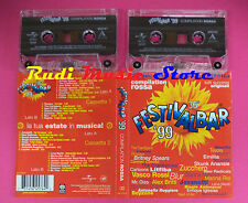 2 mc FESTIVALBAR ROSSA  1999 Compilation ROXETTE VASCO ROSSI BLUR *no cd lp dvd