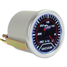 """2"""" 52mm 0 to 30 IN.HG Vacuum Meter Guage for Auto Car with Led Light Display"""