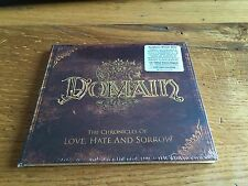DOMAIN The chronicles of love, hate and sorrow -Ltd Ed.Deluxe Digi -5000 cps -CD