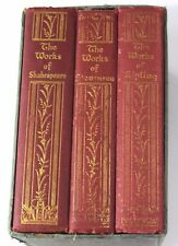 Collectible 3 Volume Set: Works of Stevenson, Kipling and Shakespeare
