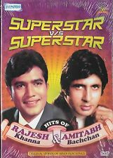 SUPERSTAR VS SUPERSTAR - RAJESH KHANNA & AMITABH BACHAN - BOLLYWOOD SONGS DVD