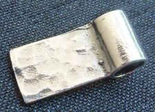 Sterling Silver Glue on Tube Bail Rectangle Bail Jewellery Findings Pendant Bail