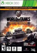XBOX 360 World of Tanks + Combat Ready Starter Pack Video Game Xbox Live war
