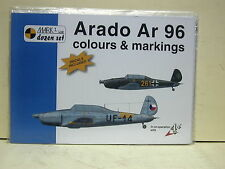 MKD48002 1:48 Mark I Ltd Colors & Markings - Arado Ar 96-SEALED