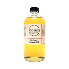 Gamblin Refined Linseed Oil 16oz