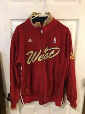 NBA All star 2007 Las Vegas West Warm Up Jacket Full Zip Burgundy And Gold Large
