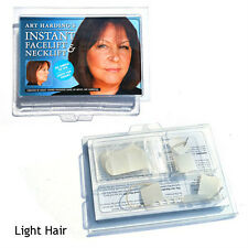 HOLLYWOOD´S SECRET INSTANT FACE AND NECK LIFT KIT (LIGHT HAIR) - FACELIFT TAPES