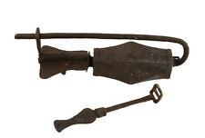 CADENAS TIBETAIN NEPAL DE MONASTERE BOUDDHISTE ANCIEN METAL AUTHENTIQUE-9772