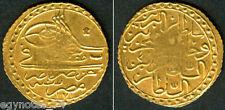 Egypt - Ottoman, Islamic Gold Zeri Mahbub Sultan Mustafa Iii 1171 Ah Misr, Rare
