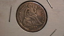 1887 Seated Liberty Dime  Nice Eye Appeal  RARE! 880B4