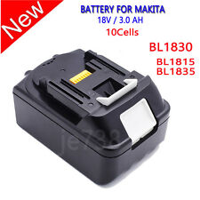 18V 18 Volt LXT Lithium-Ion 3.0 Ah Replace Battery for Makita Batteries BL1830