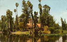 Queen Ann Cottage Lucky Baldwin Arcadia California 1963 Postcard Architecture
