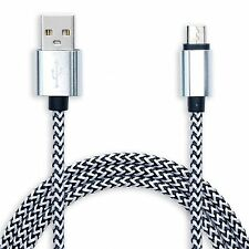 Long 3m Micro USB Cable Data Charger Lead for HTC M8 M9 Samsung Sony LG ZTE Zopo