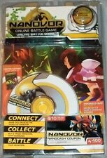 NEW NANOVOR ONLINE BATTLE GAME W/ LIMITED EDITION COMIC BOOK #1