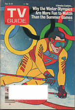 1988 TV Guide Why the Winter Olympics are more fun to watch... Feb 13-19