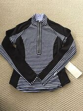 BNWT Lululemon Reversible Jacket Pullover Run Uturn Zip US 10 AU 14 L XL