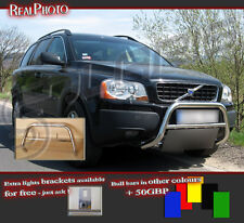 VOLVO XC90 2002-2007 BULL BAR WITHOUT AXLE BARS +GRATIS! STAINLESS STEEL!!