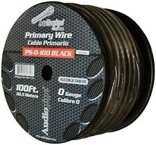 Audiopipe PS0100BK Flexible Power Cable 0 Ga. 100 Ft. Black