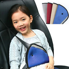 New Children Car Seat Belt Holder Child Regulator Mesh Triangle Safety Restraint
