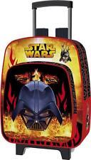 Star Wars sac à dos roulettes Dark Vador Flames trolley M 35 cm maternelle 64220