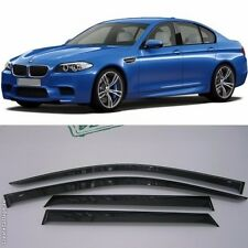 For BMW 5 Sd F10/F11 2011-2016 Window Visors Side Sun Rain Guard Vent Deflectors