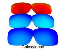 Galassia Lenti Di Ricambio Per Oakley Holbrook blu & ghiaccio Blu & fuoco Rosso