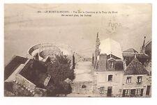 le mont-saint-michel vue sur la courtine et la tour du nord
