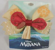 New Disney Moana Island Princess Costume Cosplay Hair Bow Barette