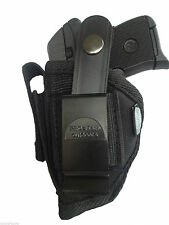 Hip holster plus Extra-Magazine Holder For Belgium Baby Browning 25 ACP