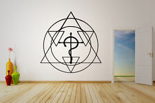 Wall Vinyl Sticker Decal Anime Manga FMA Fullmetal Alchimist Sign Flamel V004