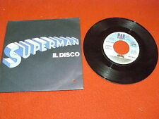 "KRYPTONITE ""SUPERMAN IL DISCO"" 7"" RAK Ita 1978 DISCO"