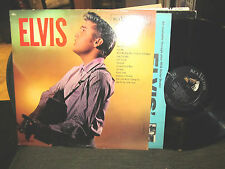 ELVIS PRESLEY RCA VICTOR LPM 1382 LP mono '56 vinyl WOW RARE VINYL no ads on bak